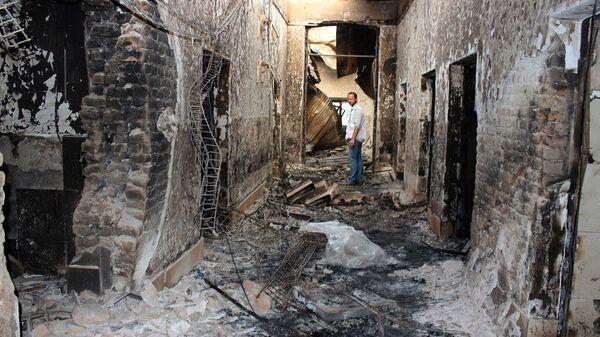 Госпиталь организации Врачи без границ в афганском городе Кундуз - Sputnik Italia