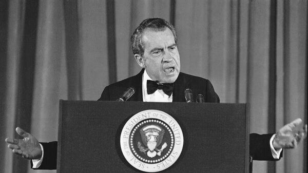 Президент США Ричард Никсон - Sputnik Italia