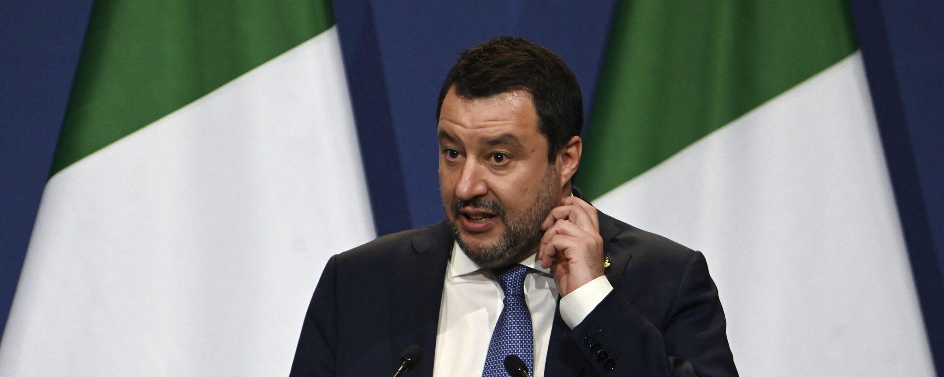 Matteo Salvini - Sputnik Italia, 1920, 15.09.2021