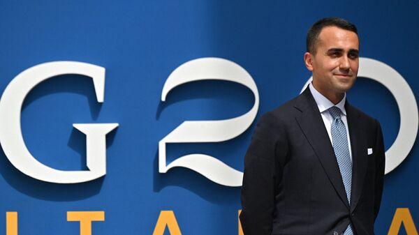 Министр иностранных дел Италии Луиджи Ди Майо в Матере  - Sputnik Italia