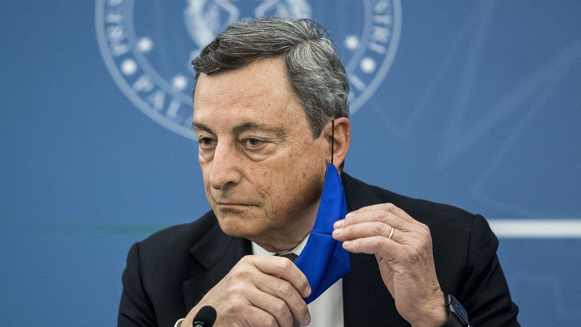 Mario Draghi a Roma - Sputnik Italia, 1920, 28.08.2021
