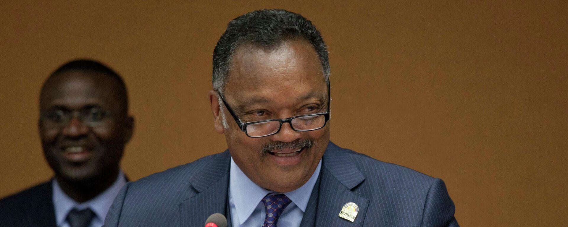 Reverendo Jesse Jackson parla alle Nazioni Unite, 21 marzo 2012 - Sputnik Italia, 1920, 22.08.2021
