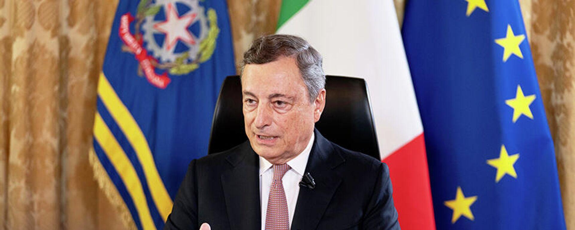Il premier Draghi - Sputnik Italia, 1920, 23.08.2021
