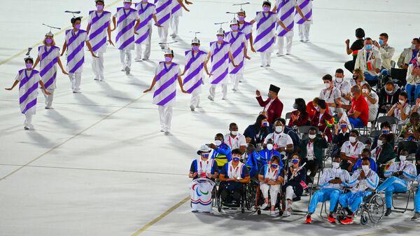 Артисты на церемонии открытия XVI летних Паралимпийских игр - Sputnik Italia