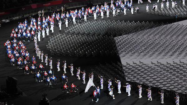 Сборная команда России на церемонии открытия XVI летних Паралимпийских игр - Sputnik Italia
