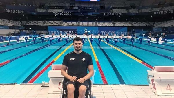 Итальянский паралимпиец Франческо Боччардо в Токио - Sputnik Italia
