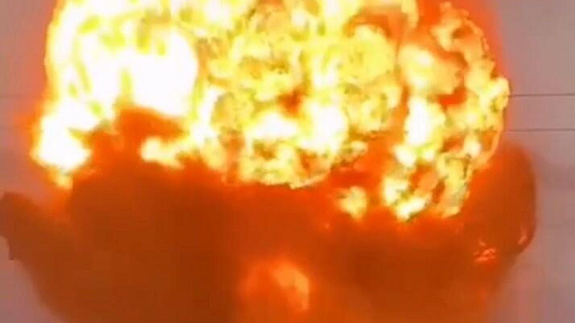L'esplosione nella città meridionale di Taraz, in Kazakistan - Sputnik Italia, 1920, 26.08.2021