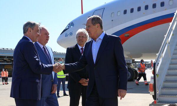 L'ultima visita di Sergey Lavrov in Italia si era tenuta alla fine del 2019, quando il capo della diplomazia russa si era recato a Roma per la conferenza Dialoghi del Mediterraneo. - Sputnik Italia