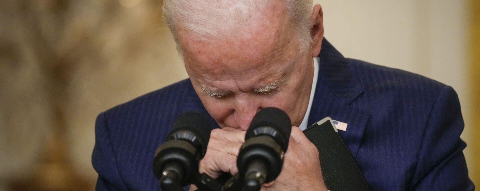 Joe Biden parla alla nazione sulla difficile situazione in Afghanistan - Sputnik Italia, 1920, 03.09.2021
