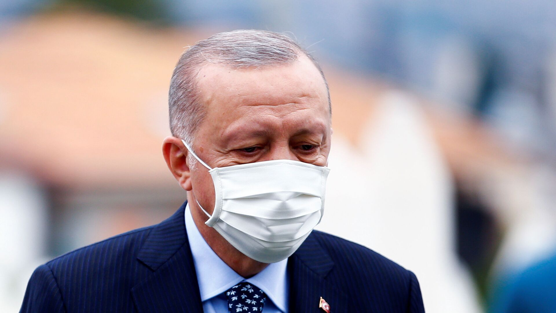 Il presidente turco Recep Tayyip Erdogan in visita a Sarajevo - Sputnik Italia, 1920, 21.09.2021