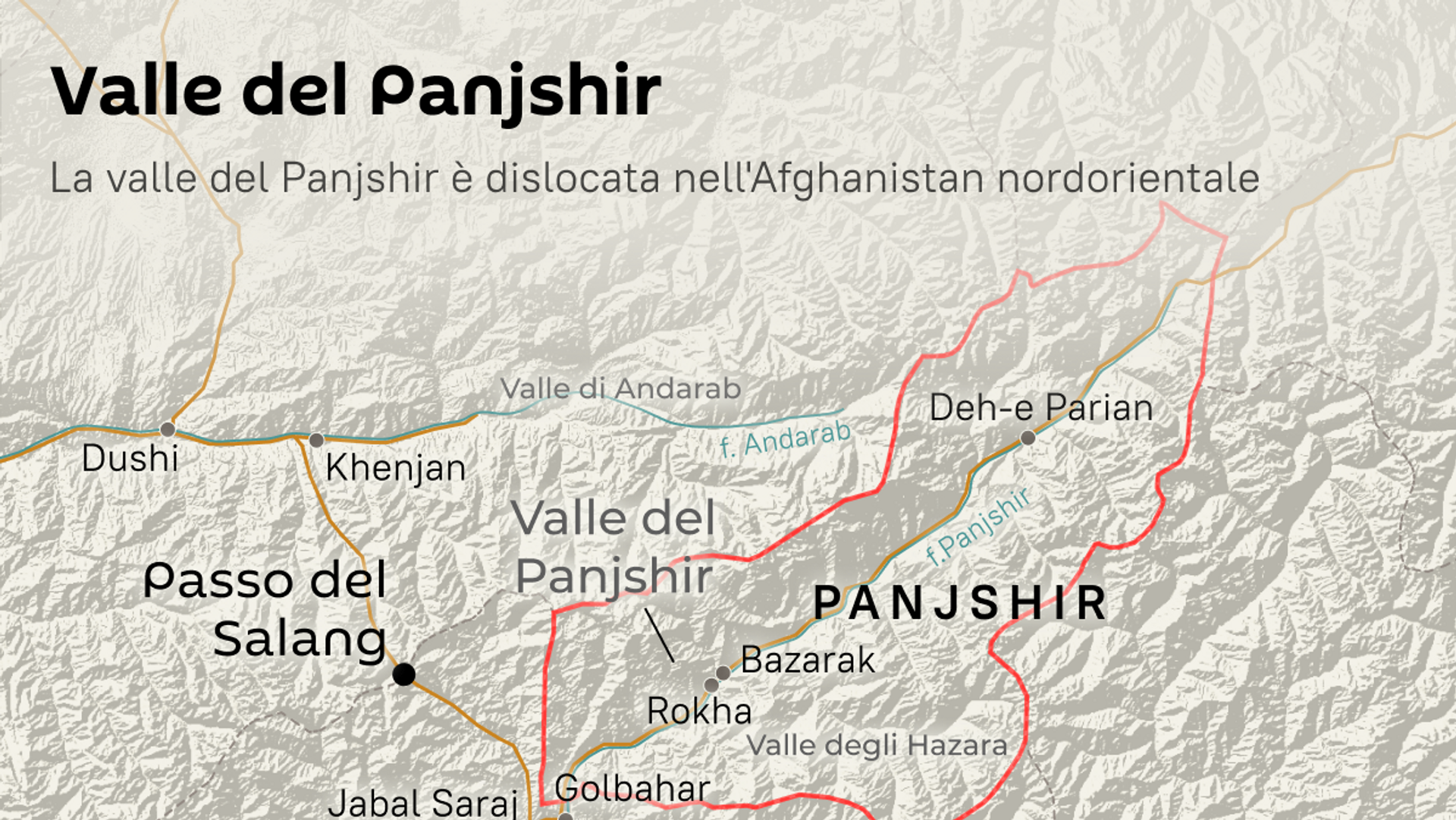 Valle del Panjshir - Sputnik Italia, 1920, 08.09.2021