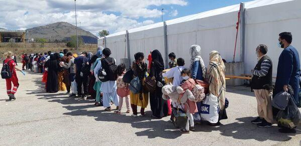Afghani nel centro di accoglienza di Avezzano - Sputnik Italia