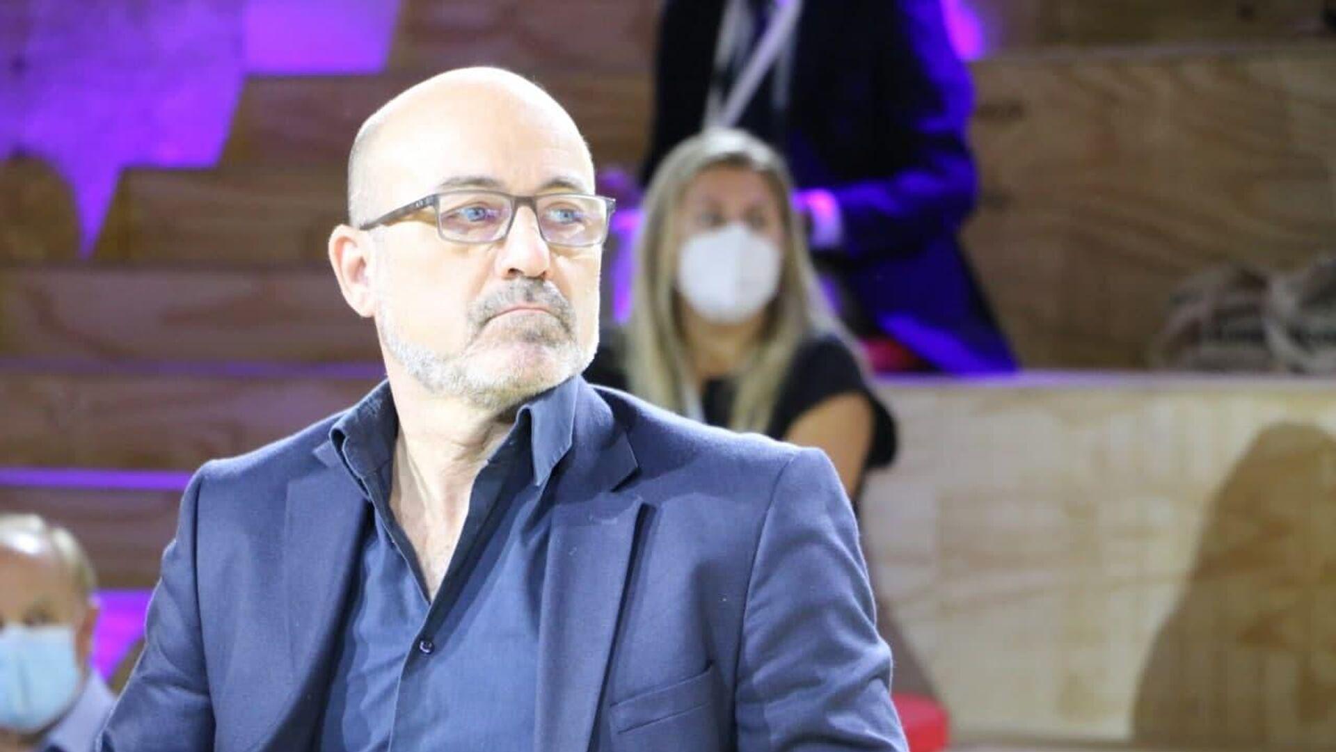 Roberto Cingolani, Ministro della transizione ecologica, al Supersalone, Rho Fiera, Milano - Sputnik Italia, 1920, 16.09.2021