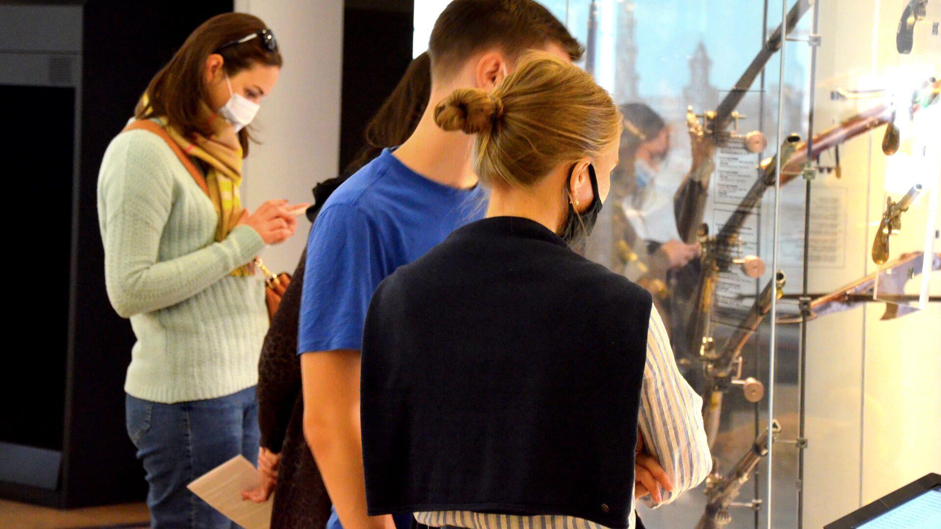 Coronavirus in Russia, Tula, museo della armi, settembre 2021 - Sputnik Italia, 1920, 29.09.2021