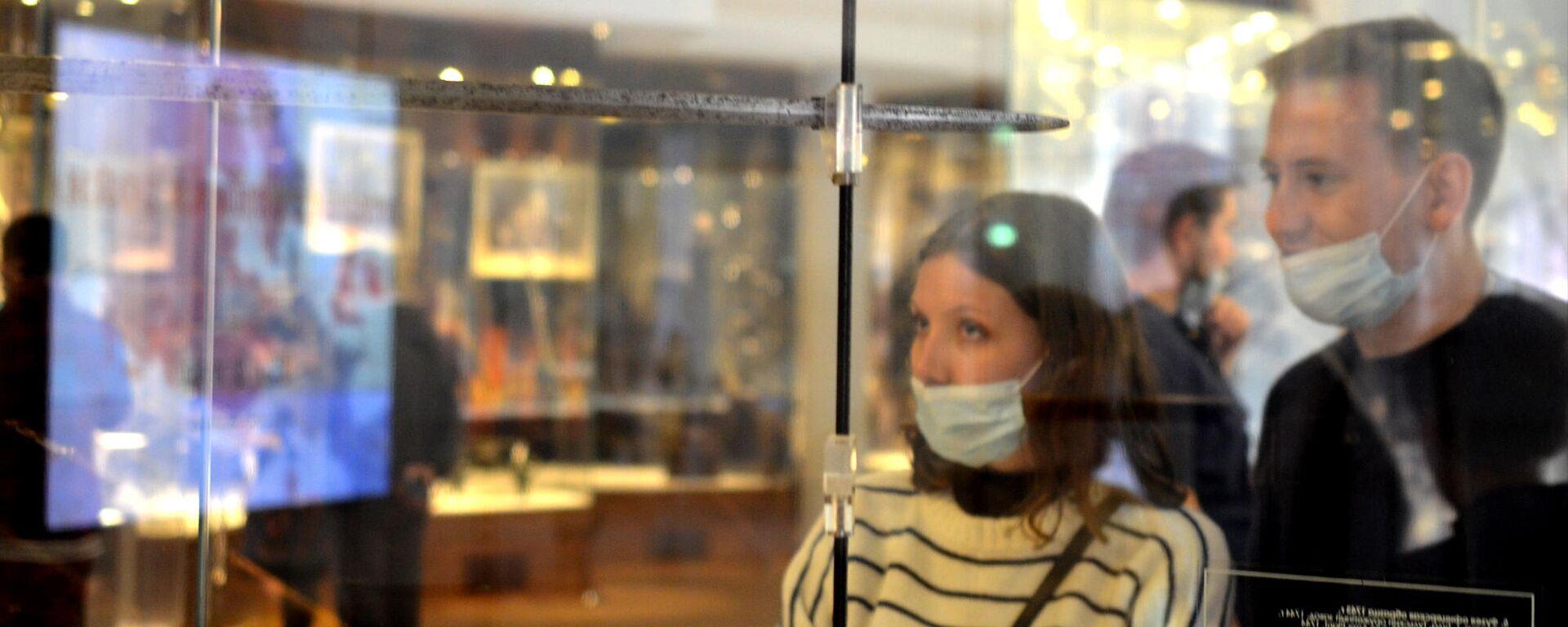 Coronavirus in Russia, Tula, museo della armi, settembre 2021 - Sputnik Italia, 1920, 23.09.2021