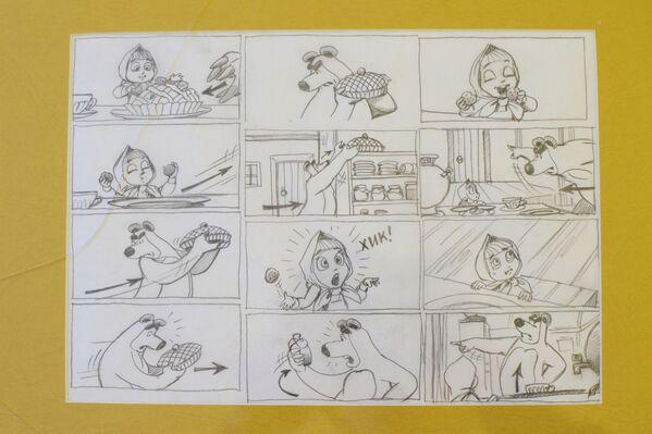 Il cartone animato, ispirato a una favola tradizionale russa, è stato lanciato nel gennaio 2009. Ad oggi, il progetto ha cinque stagioni, ed è stato tradotto in 43 lingue. Uno dei suoi episodi è stato presentato in anteprima sulla Stazione Spaziale Internazionale. - Sputnik Italia