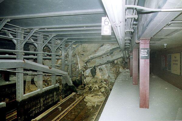 Le conseguenze del crollo delle torri sulla metropolitana. - Sputnik Italia