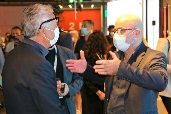 Roberto Cingolani e Stefano Boeri al Salone del Mobile - Sputnik Italia