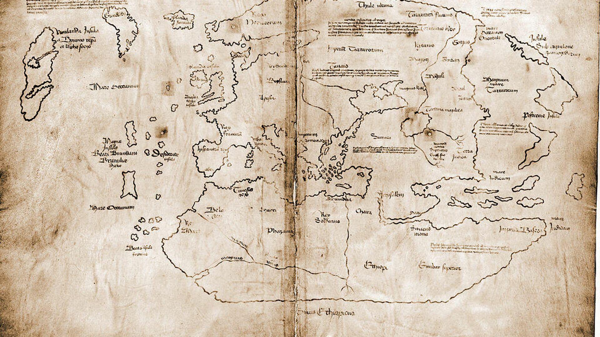 La mappa di Vinland - Sputnik Italia, 1920, 16.09.2021