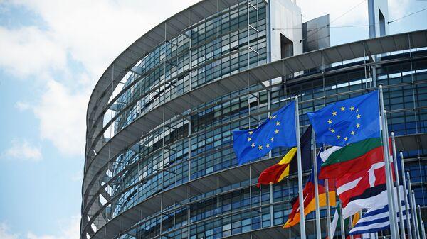 Здание Европейского парламента в Страсбурге - Sputnik Italia