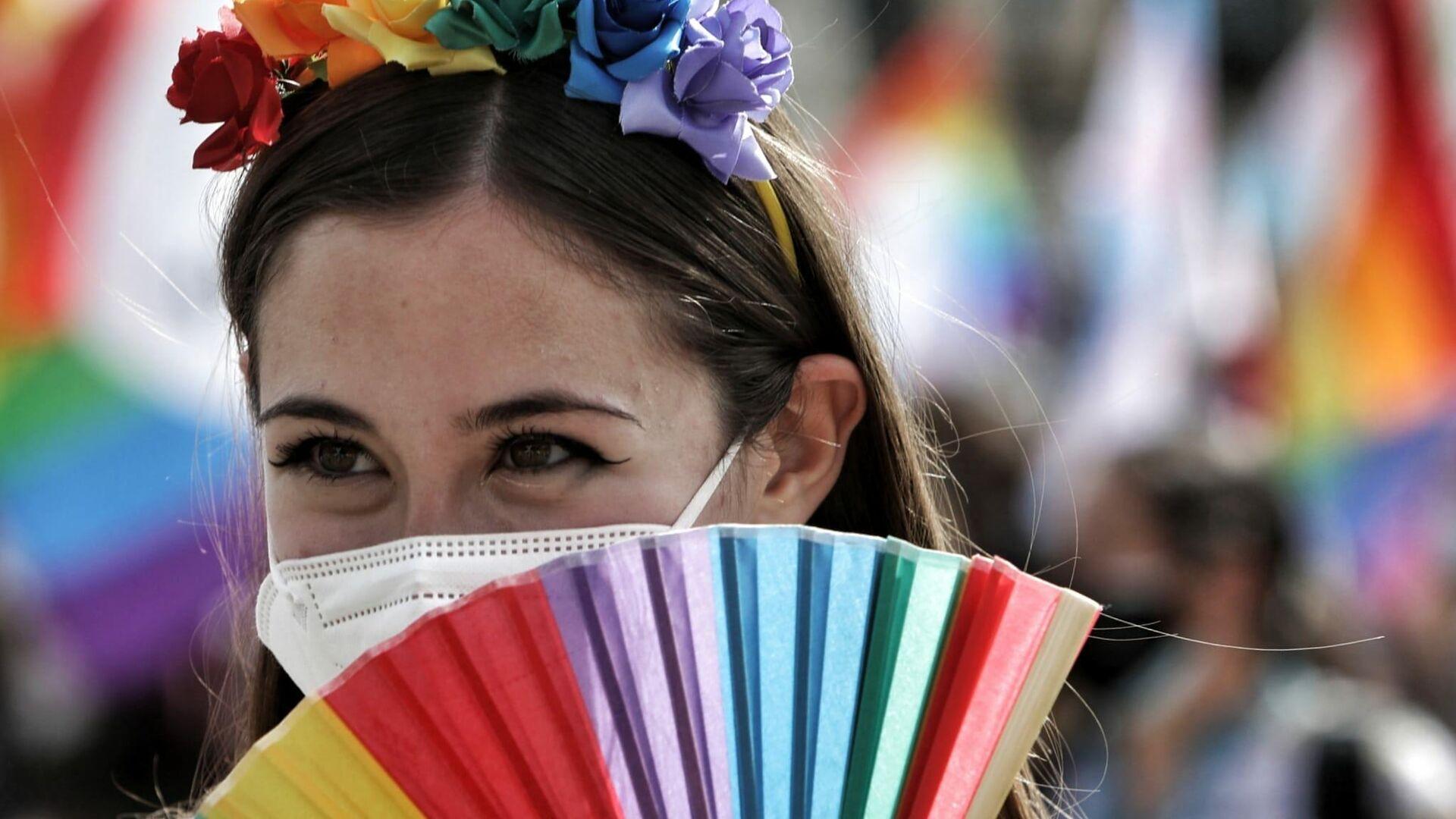 Attivista per i diritti gay - Sputnik Italia, 1920, 17.09.2021