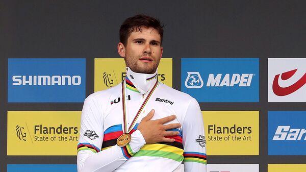 Итальянский велосипедист Filippo Ganna - Sputnik Italia
