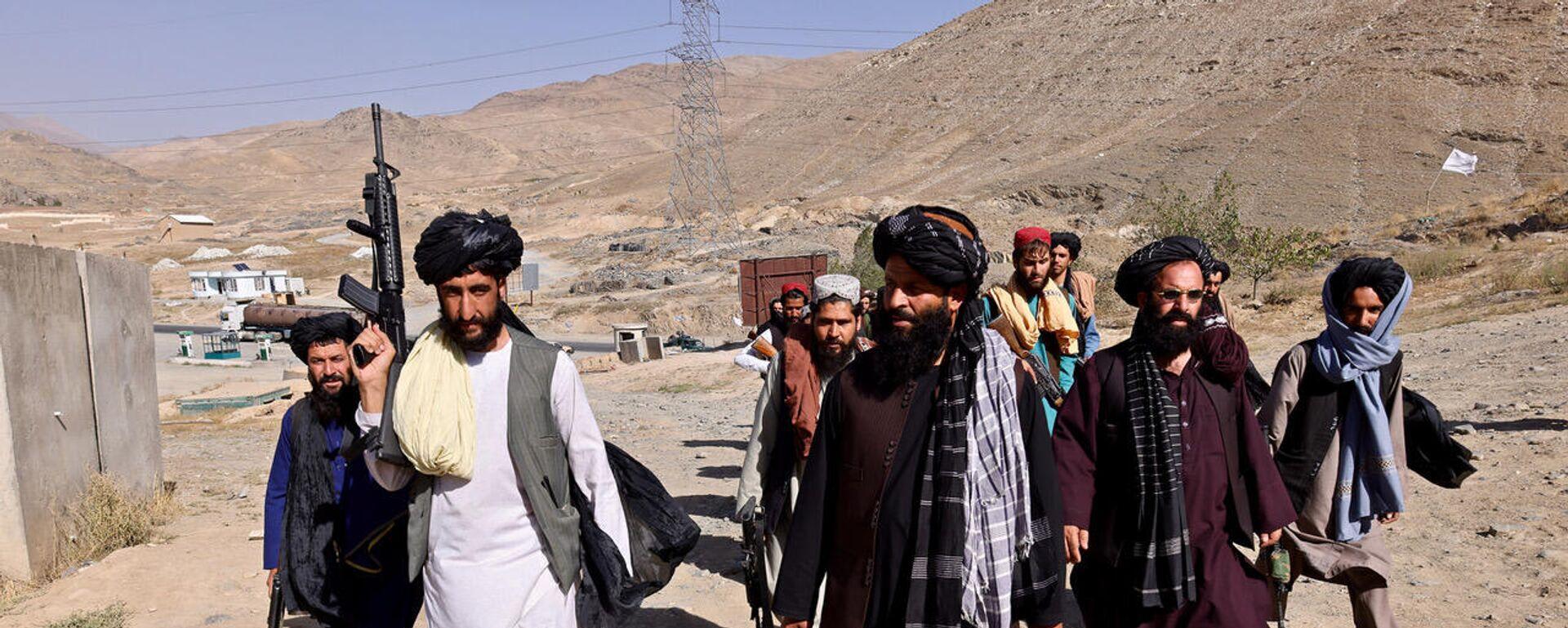 Talebani a Maidan Shar, capoluogo della provincia di Wardak - Sputnik Italia, 1920, 21.09.2021