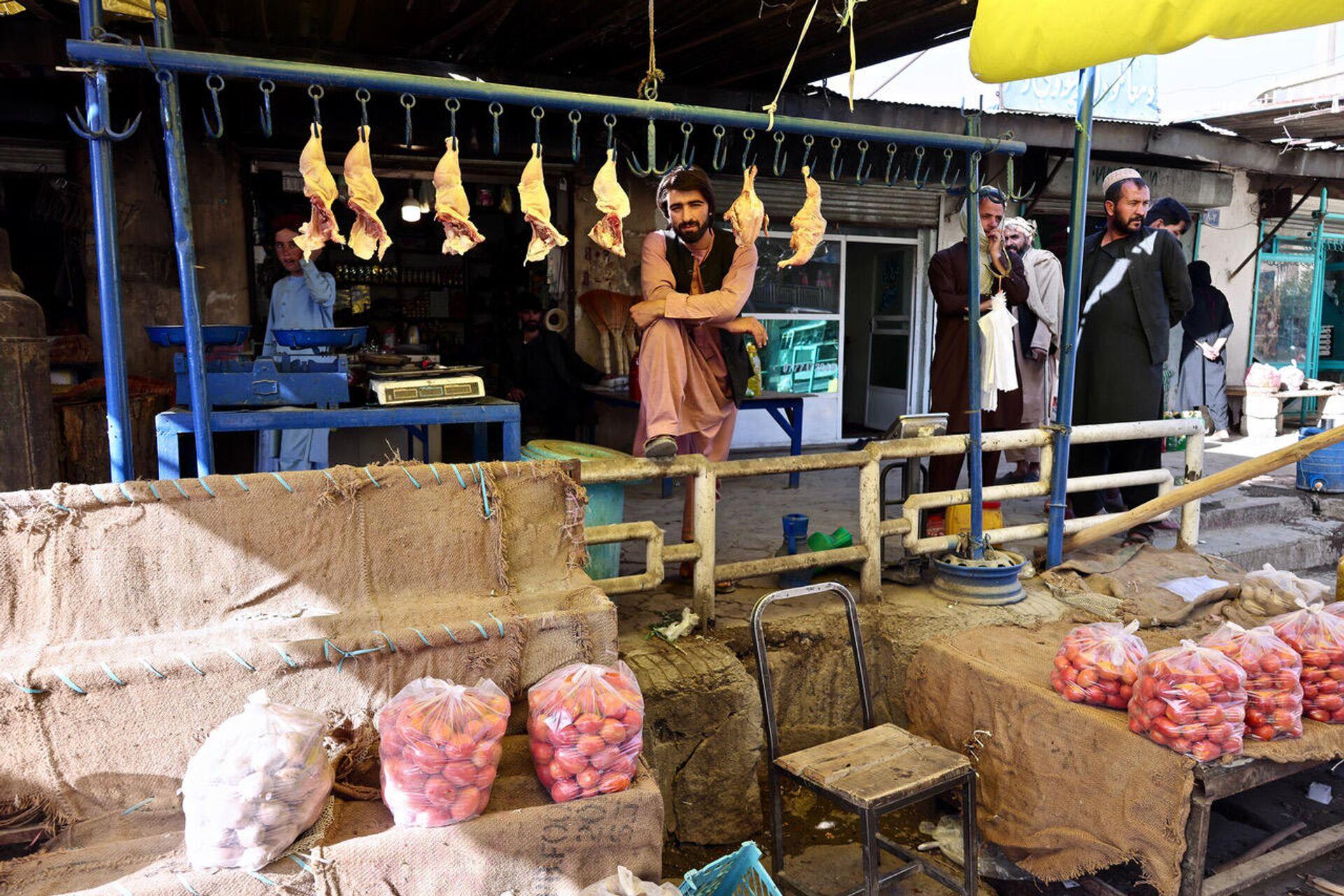 Bazar a Maidan Shar, capoluogo della provincia di Wardak - Sputnik Italia, 1920, 21.09.2021