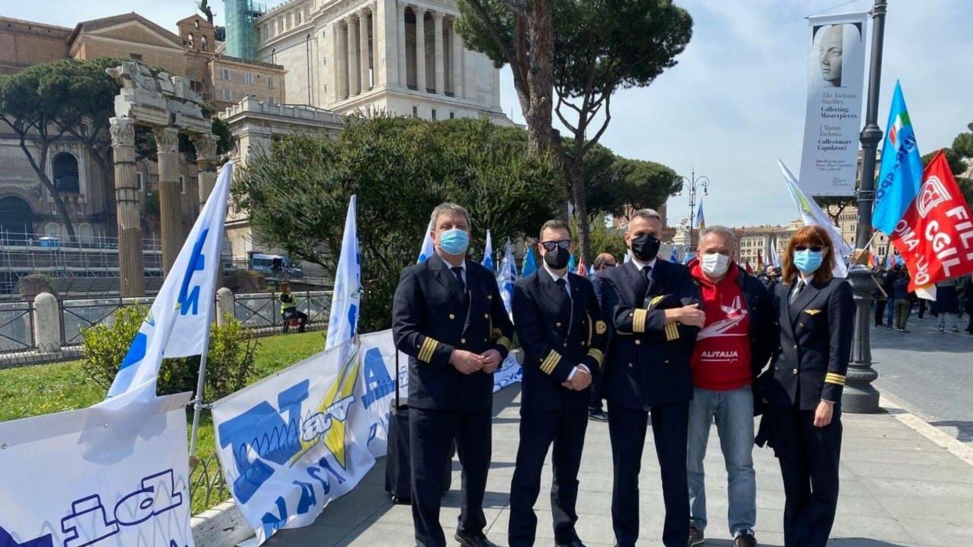 Manifestazione NavAid - Sputnik Italia, 1920, 22.09.2021