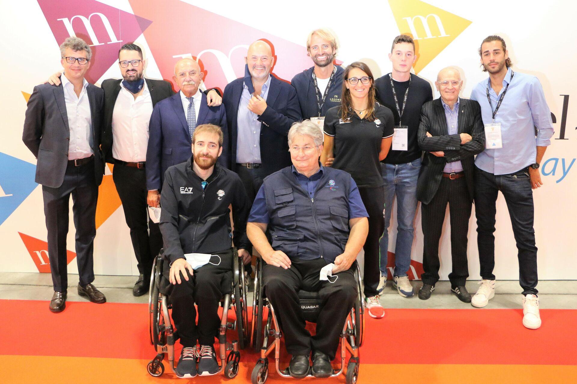 La delegazione atleti olimpici e paraolimpici - Sputnik Italia, 1920, 23.09.2021