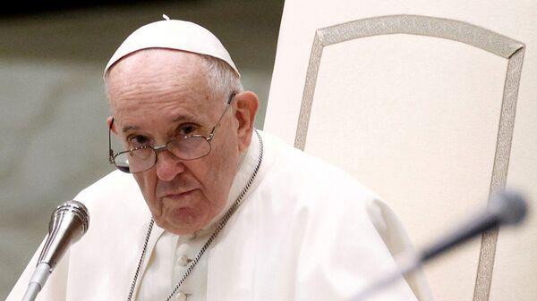 Папа Франциск проводит еженедельную общую аудиенцию в Ватикане - Sputnik Italia