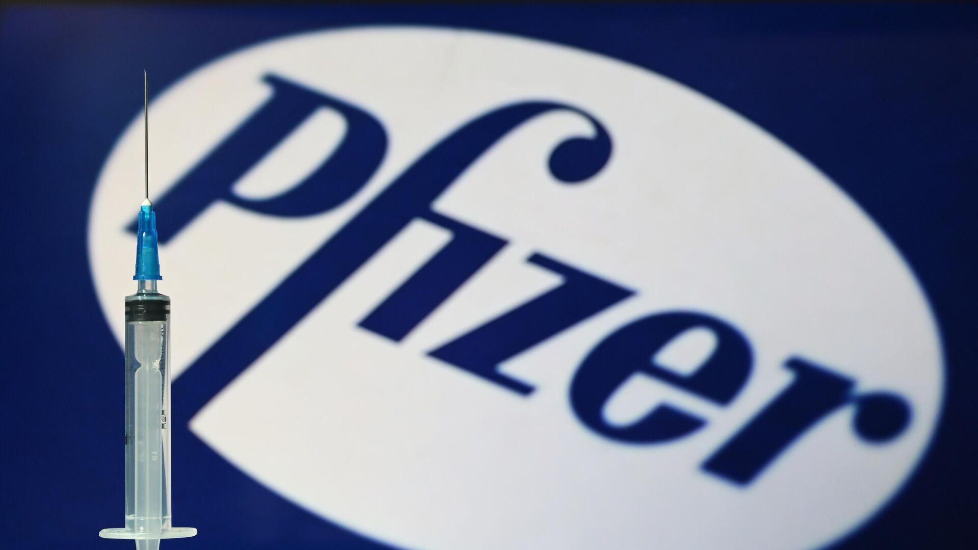 Logo Pfizer - Sputnik Italia, 1920, 28.09.2021