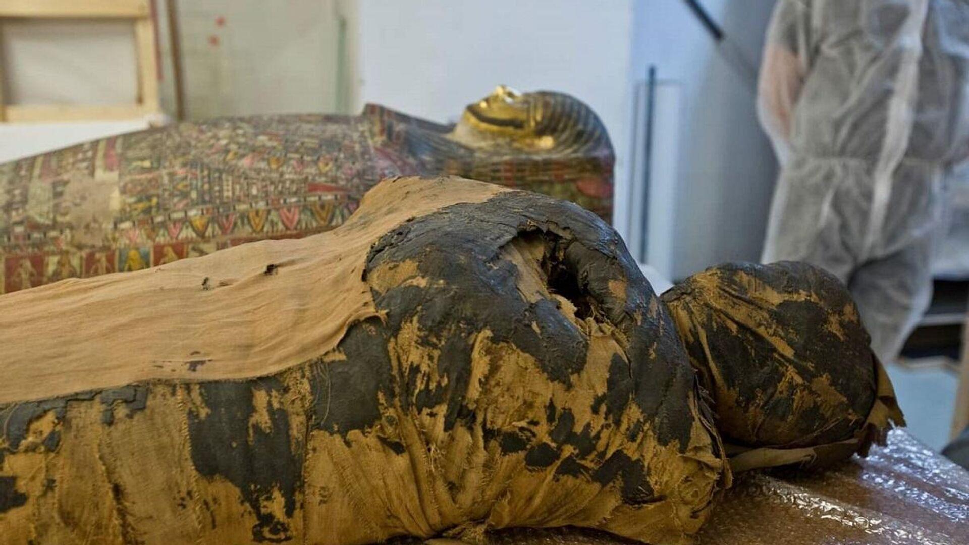 Mummie egiziane - Sputnik Italia, 1920, 30.09.2021