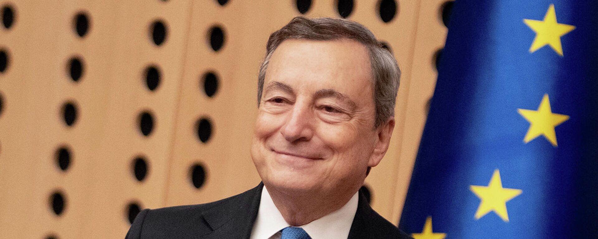 Il Presidente del Consiglio, Mario Draghi, partecipa al Vertice UE-Balcani occidentali - Sputnik Italia, 1920, 13.10.2021