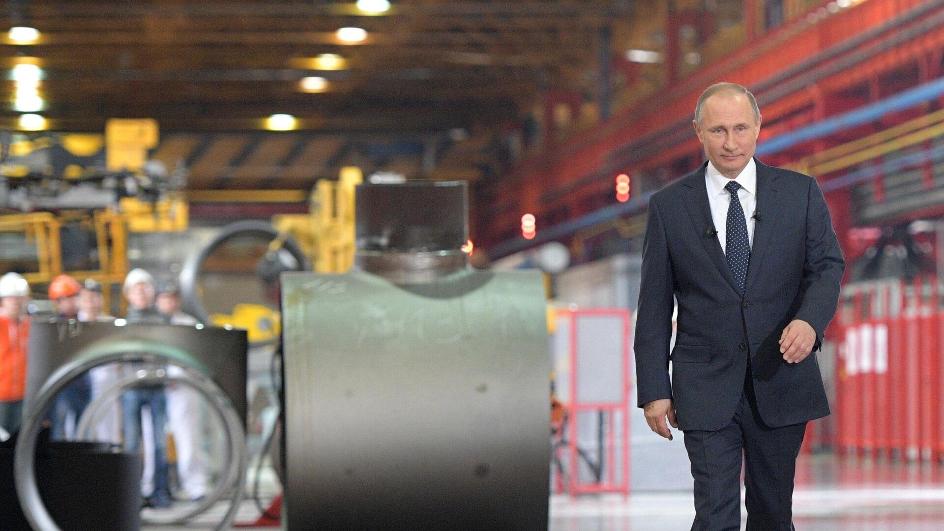 Vladimir Putin - Sputnik Italia, 1920, 13.10.2021