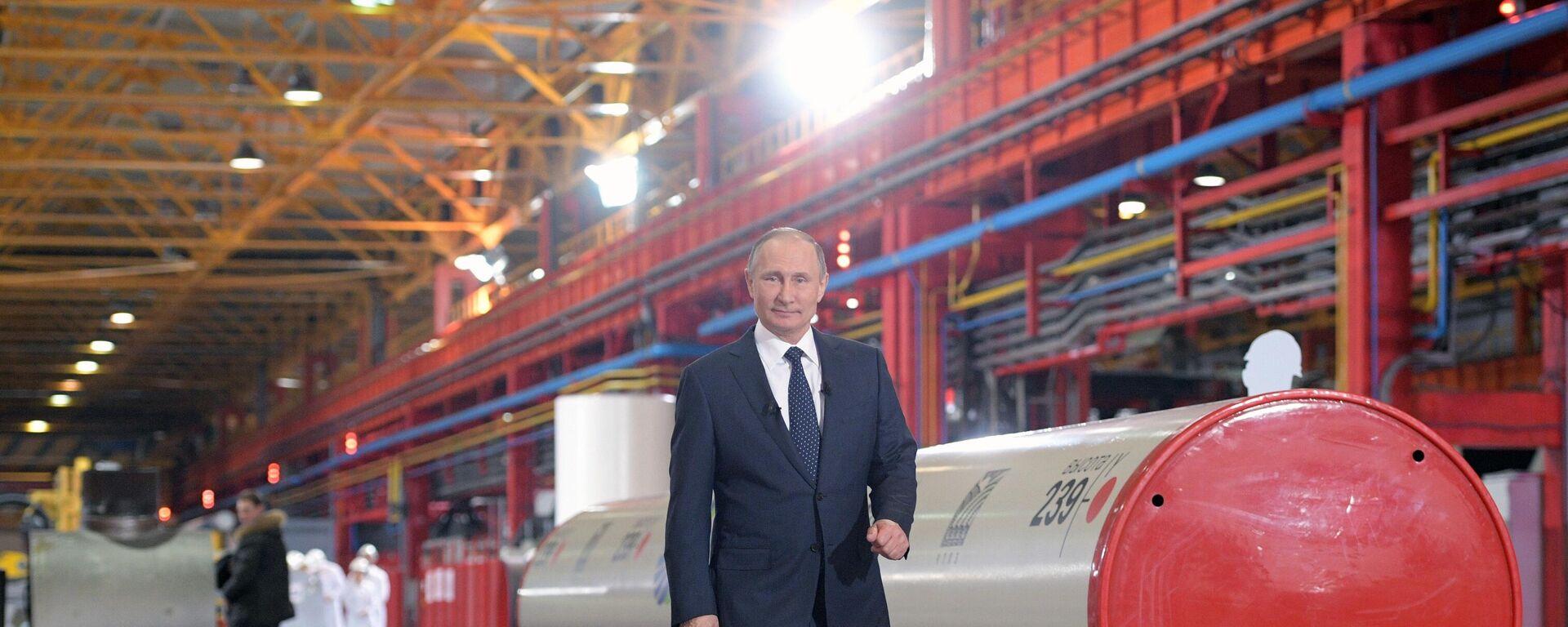 Vladimir Putin - Sputnik Italia, 1920, 06.10.2021