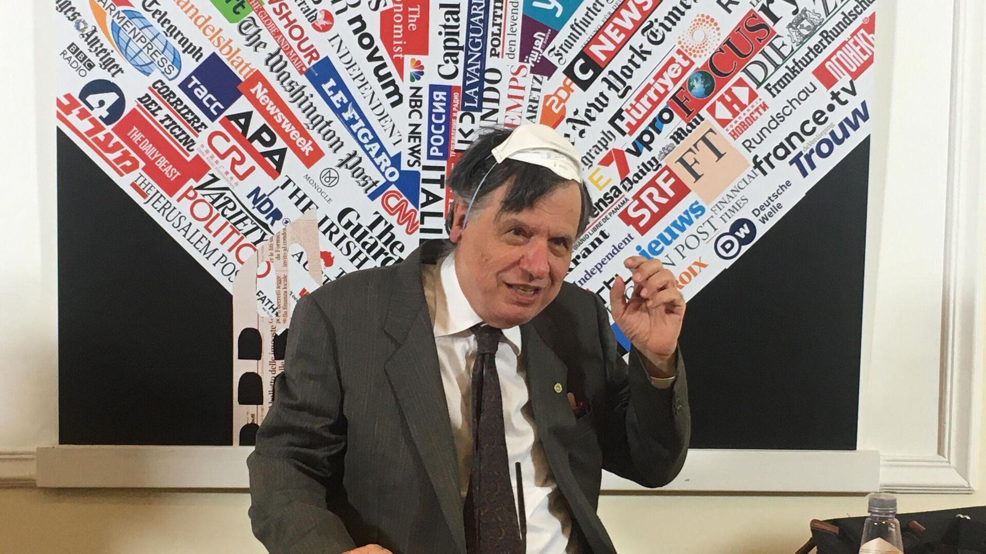 Giorgio Parisi, il Professore emerito dell'Università La Sapienza di Roma e vicepresidente dell'Accademia dei Lincei  - Sputnik Italia, 1920, 09.10.2021