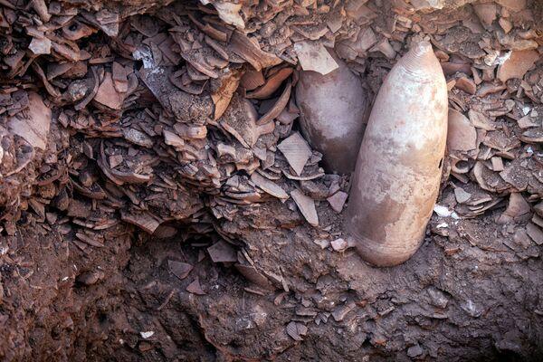Il complesso di Yavne sarà 'conservato' e farà parte di un futuro parco archeologico accessibile al pubblico, hanno assicurato i vertici delle Antichità di Israele. - Sputnik Italia