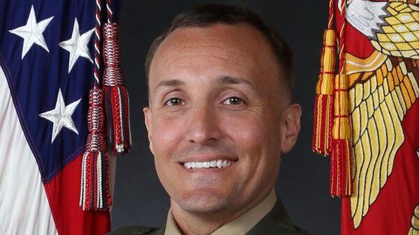 Подполковник морской пехоты США Стюарт Шеллер  - Sputnik Italia