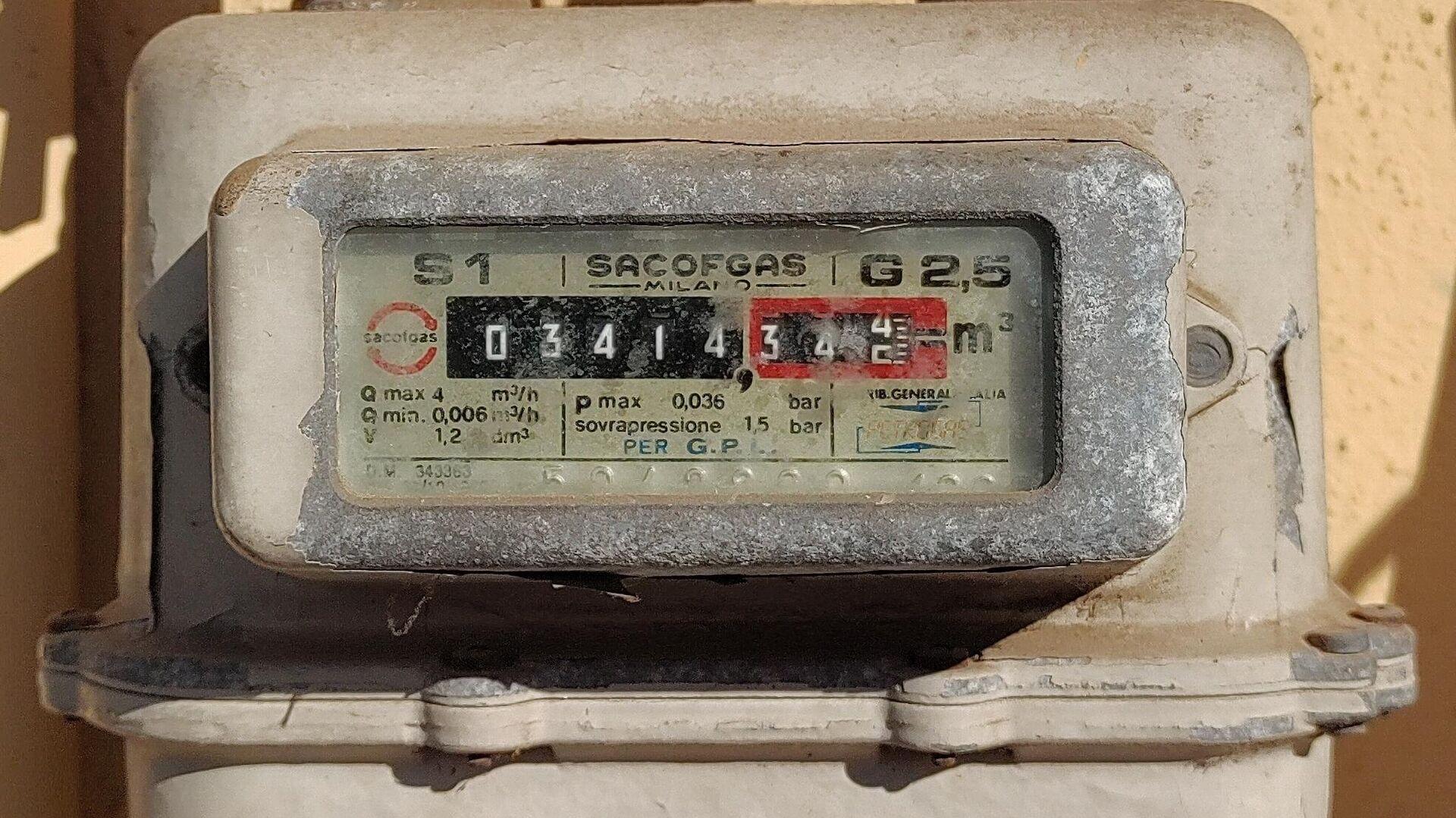 Contatore del gas - Sputnik Italia, 1920, 13.10.2021
