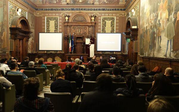 Conferenza sulla guerra in Ucraina presso Università di Macerata - Sputnik Italia
