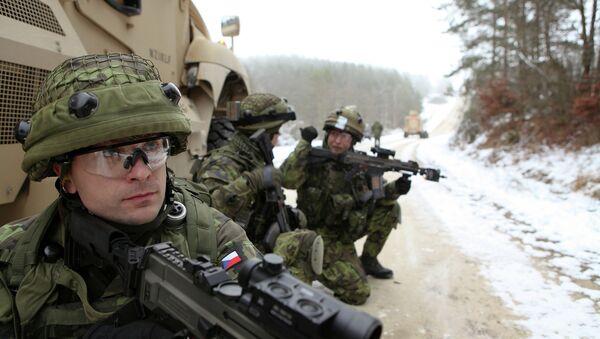 Soldati Repubblica Ceca - Sputnik Italia