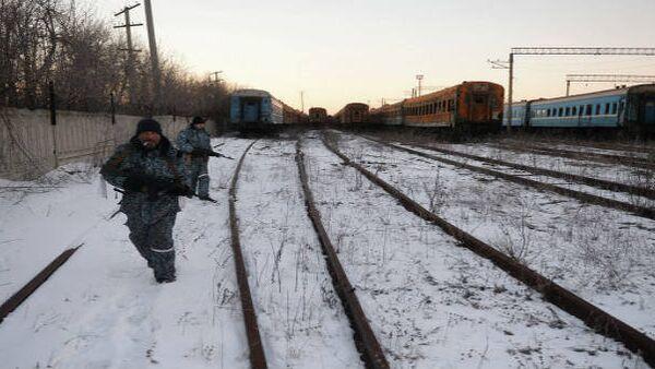 Ferrovia tra la Repubblica Popolare di Lugansk e l'Ucraina - Sputnik Italia