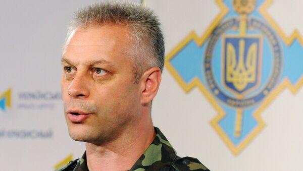 Andriy Lysenko, portavoce ATO delle forze armate ucraine nel Donbass - Sputnik Italia