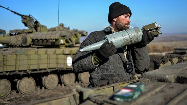 Carri armati dell'esercito ucraino - Sputnik Italia