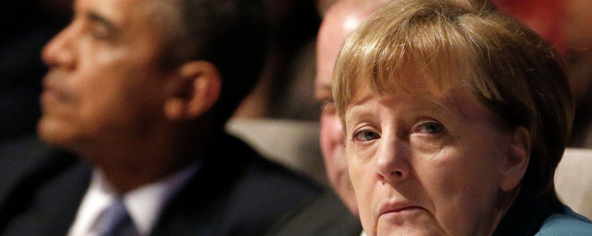 Angela Merkel e Barack Obama - Sputnik Italia, 1920, 24.05.2015