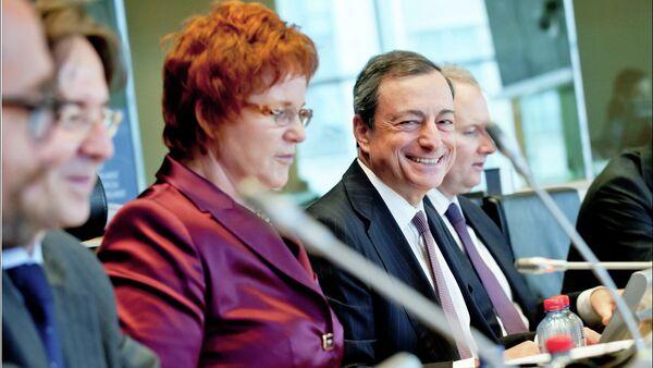 Il presidente della BCE Mario Draghi - Sputnik Italia