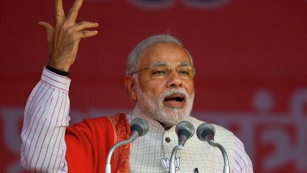Il primo ministro indiano Narendra Modi - Sputnik Italia
