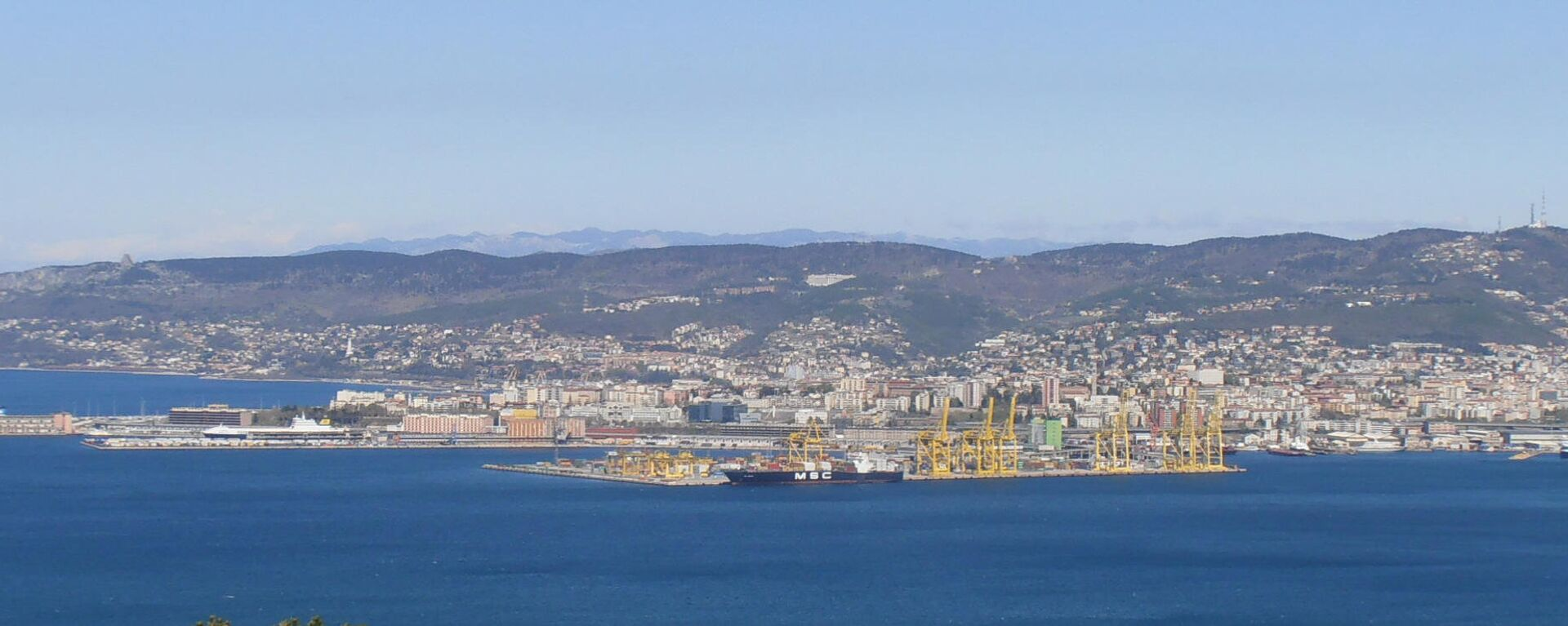 Il porto nuovo di Trieste - Sputnik Italia, 1920, 13.10.2021