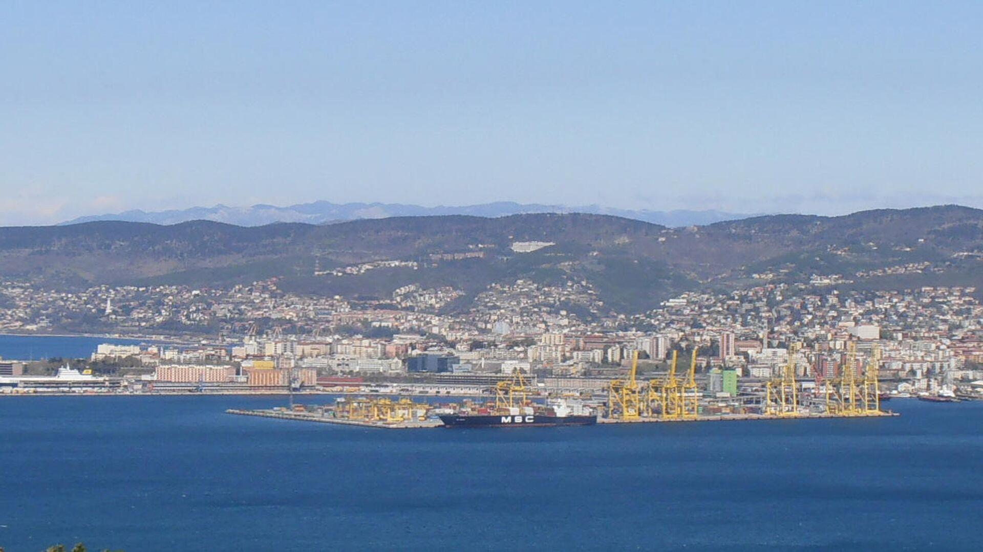 Il porto nuovo di Trieste - Sputnik Italia, 1920, 14.10.2021